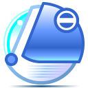 Aquanoid iMac Blueberry Icon