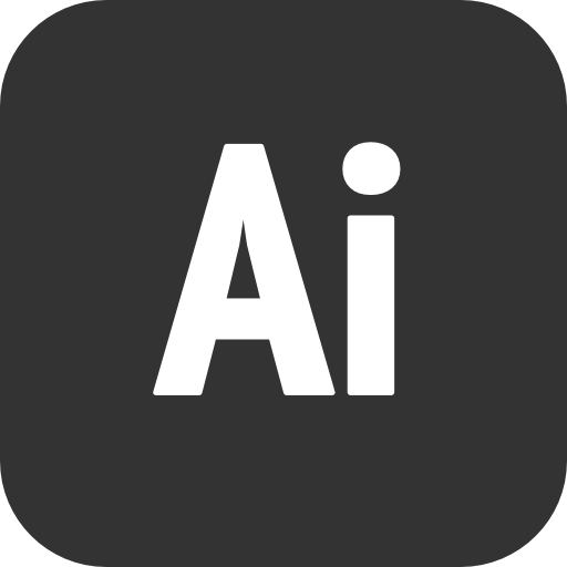 Adobe Design Ai Icon