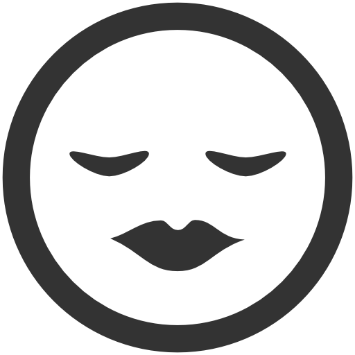 Emoticons Kiss Icon