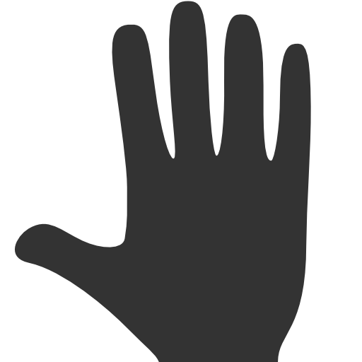 Hands Whole hand Icon