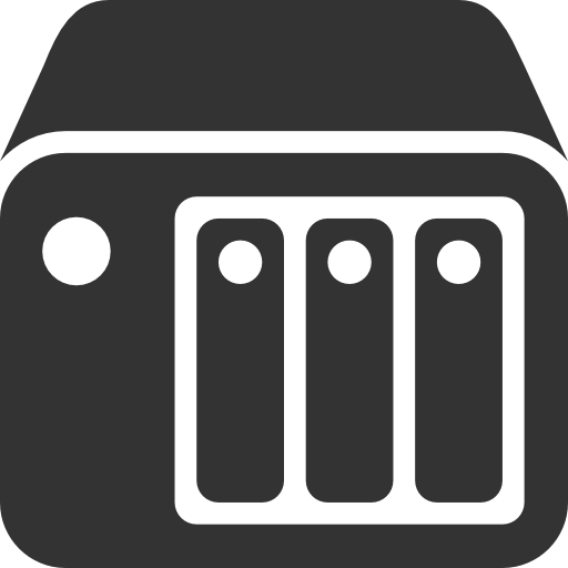 It Infrastructure Nas Icon