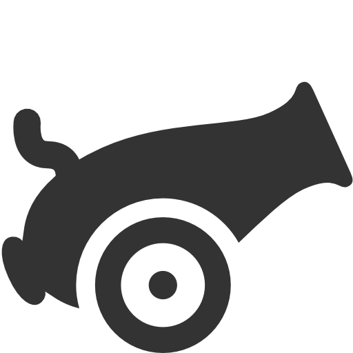 Military Cannon Icon