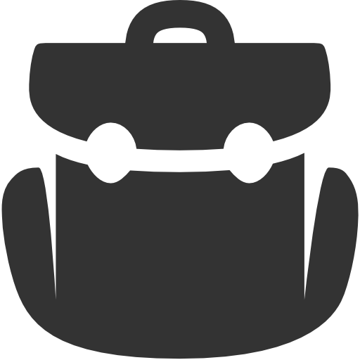 Military Rucksack Icon