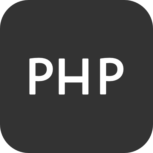 Programming File Types Php Icon