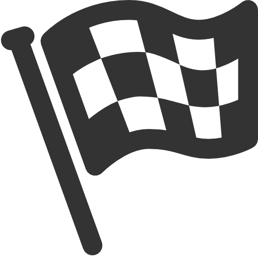 Sport Activities Finish flag Icon