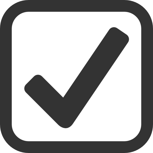 Very Basic Checked checkbox Icon