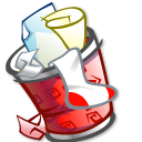 Trashcan full Icon