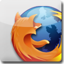 Firefox White Icon