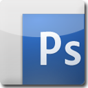 Photoshop White Icon
