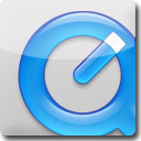 QuickTime White Icon