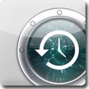 TimeMachine White Icon
