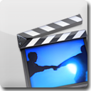 iMovie White Icon