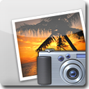 iPhoto White Icon