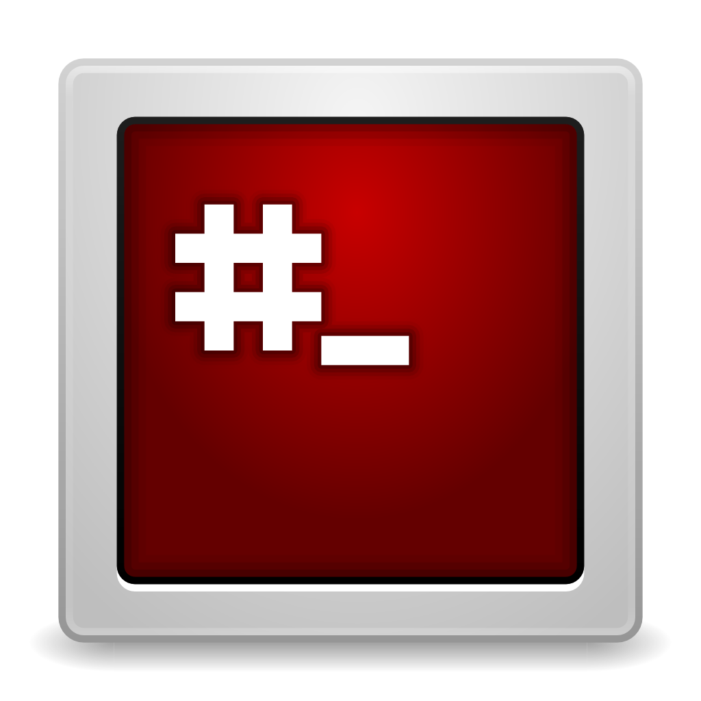 Apps gksu root terminal Icon
