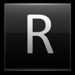 Letter R black icon free download as PNG and ICO formats ...