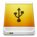 Device Drive External USB Icon