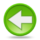 Actions arrow left Icon