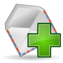 Actions mail new Icon