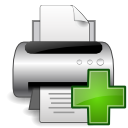Devices printer new Icon
