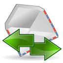 Mail send receive Icon