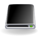 Filesystems hd2 black Icon