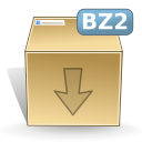 Mimetypes bz 2 Icon