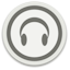 Orbital audio headset Icon