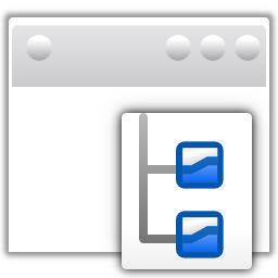 Actions view sidetree Icon