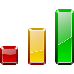 Actions view statistics Icon
