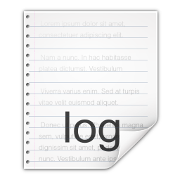 Mimetypes Text X Log Vector Icons Free Download In Svg Png Format