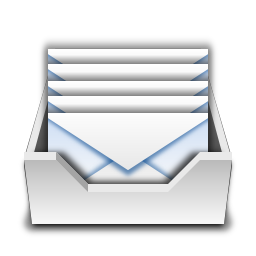 Places mail folder inbox Icon