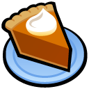 Pumpkin Pie Icon