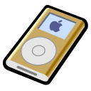 iPod mini gold Icon