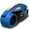 lightcycle   blue Icon