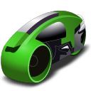 lightcycle   green Icon