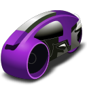 lightcycle   purple Icon
