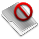 Grey Delete Icon