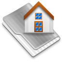 Grey Home Icon