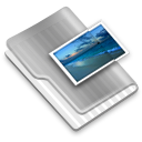 Grey Images Icon