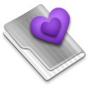 Grey Purple Alt Icon