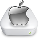 Drive Apple gray Icon