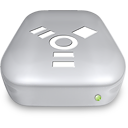 Drive Firewire metal Icon