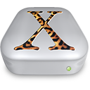 Drive OS X Jaguar metal Icon
