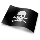 Flag Skull And Crossbones Icon