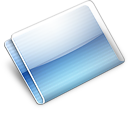 Folder Alternative aqua Icon