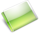 Folder Alternative lime Icon