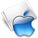 Folder Apple aqua Icon