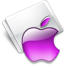 Folder Apple grape Icon