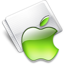 Folder Apple lime Icon
