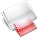 Folder Folders strawberry Icon